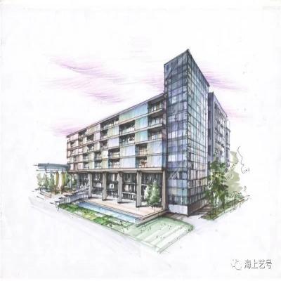 抄绘专题|以同济大学建筑系C楼为类型案例抄绘